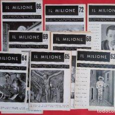 Arte: BOLLETTINO DELLA GALLERIA DEL MILIONE. Lote 161094414