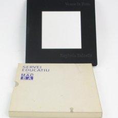Arte: VEURE LA LLUM, EUGÈNIA BALCELLS, 1996, MACBA, BARCELONA. 22X22CM. Lote 161233186