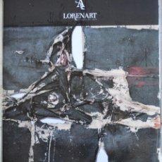 Arte: CATÁLOGO DE LA GALERÍA DE ARTE LORENART. LA LISTA DE PINTORES ESTÁ EN UNA DE LAS FOTOS.. Lote 161528846