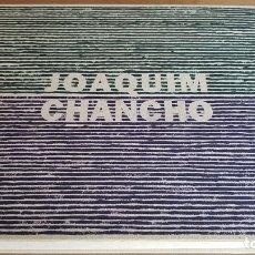 Arte: JOAQUIM CHANCHO / DIBUIXA UNA LÍNIA I SEGUEIX-LA / CENTRE D'ART TECLA SALA - 2014 + DVD. Lote 161897422
