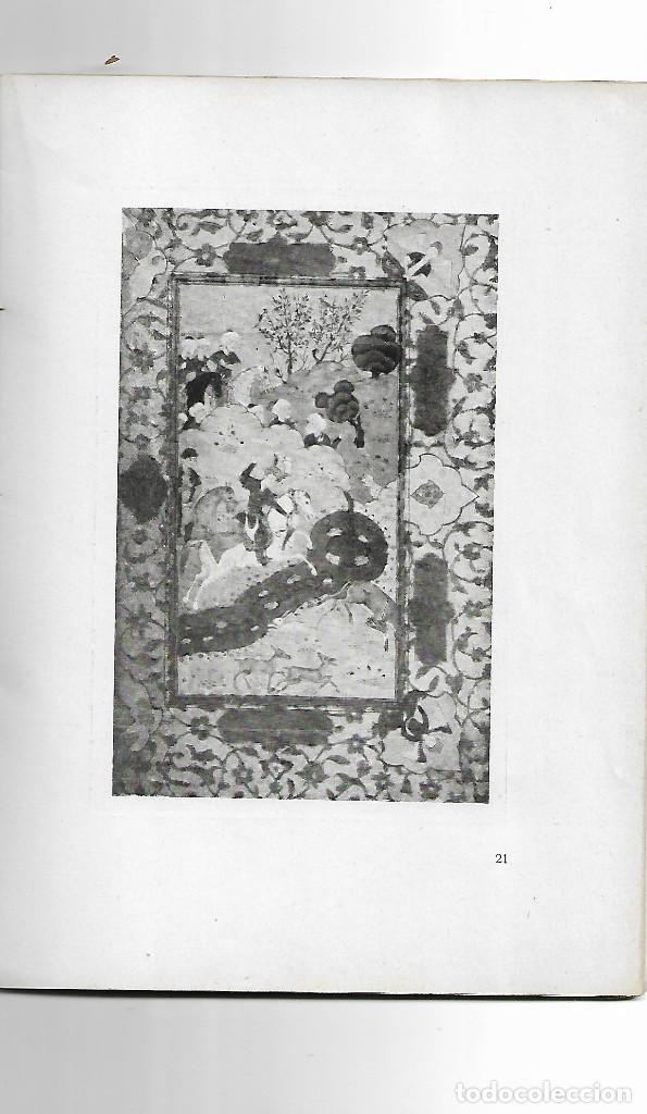 Arte: Exposición de Miniaturas Persas e Indo-Persas.Galerias J.Dalmau-Barcelona 1913 - Foto 2 - 162154250
