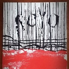 Arte: JOSEP ROYO - TAPISSOS - SALA GASPAR. 1972. Lote 46702363