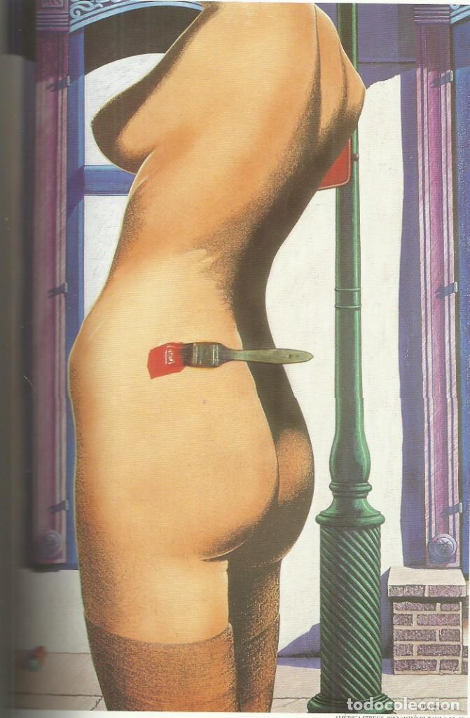 Arte: Antoni Miró, antología. Dedicado y firmado,Alicante 1999, 415 páginas. - Foto 3 - 162817722