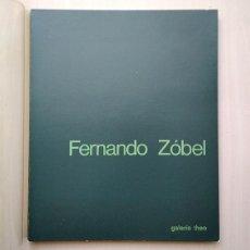 Arte: FERNANDO ZÓBEL · LAS ORILLAS, VARIACIONES SOBRE UN RÍO. GALERÍA THEO, 1982. Lote 163425150