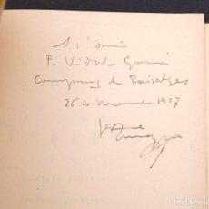 Arte - JAUME BUSQUETS - PINTURA - 1937 - CON DEDICATORIA AUTÓGRAFA A VIDAL GOMÁ - 163486486