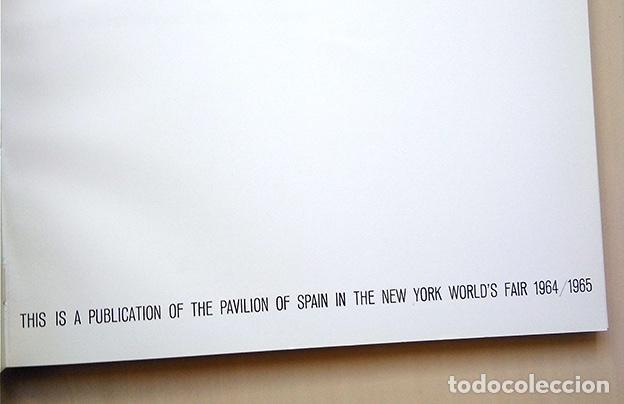 Arte: Amadeo Gabino - Juan Ramírez de Lucas. Pabellón de España en la Feria Mundial de Nueva York 1964 - Foto 3 - 163520406