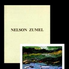 Arte: NELSON ZUMEL. CATÁLOGO DE DURÁN 1991. Lote 165049546