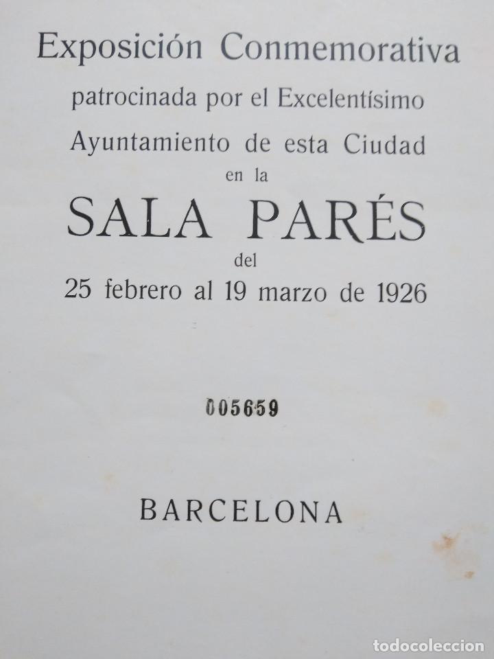 Arte: Catálogo Exposición 1926 Sociedad Artística y Literaria de Barcelona - Foto 3 - 165598218