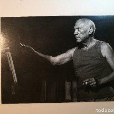 Arte: TARJETA EXPOSICION FOTOGRAFICA PICASSO-VILLERS -REGARDS CROISES--GALERIE FLAK -PARIS-1998--REF-D. Lote 165671162