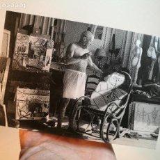 Arte: TARJETA EXPOSICION FOTOGRAFICA PICASSO-VILLERS -REGARDS CROISES--GALERIE FLAK -PARIS-1998--REF-D. Lote 165671322