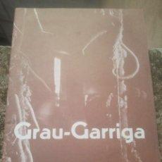 Arte: GRAU-GARRIGA - 1 / 30 ABRIL, 1975 ? BIBLIOTECA MUNICIPAL, BENIDORM, ALICANTE - CATÁLOGO - EXPOSICIÓN. Lote 165768342