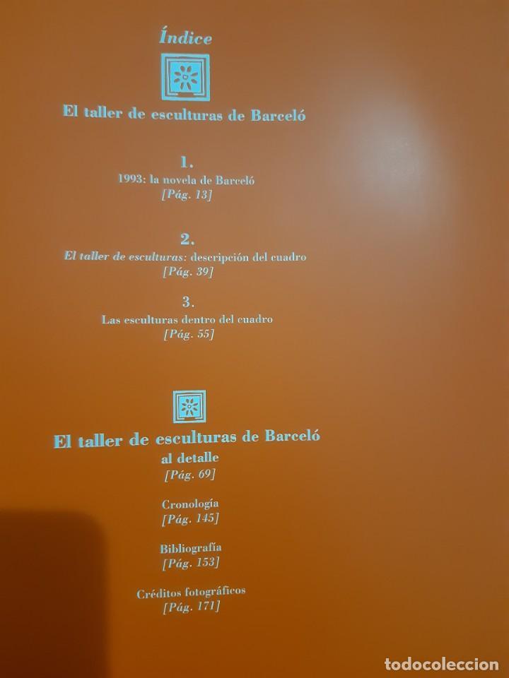 Arte: Barceló. El taller de esculturas . Francisco Calvo Serraller. TF. Editores 2002 - Foto 2 - 166226090