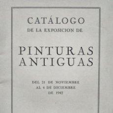 Arte: GALERÍAS REIG. BARCELONA 1942. Lote 166650122