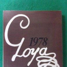 Arte: GOYA 1978 / NUMERADO Y FIRMADO. Lote 166938944