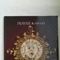 Arte: FRAYSSE & ASSOCIÉS CATÁLOGO DE ARTE. Lote 167177601