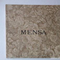Arte: CARLOS MENSA. SALA PELAIRES 1975. Lote 167620608
