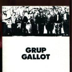 Art: GRUP GALLOT. MUSEU D'ART DE SABADELL. EXPOSICIÓ MONOGRÀFICA 1981.. Lote 167655884