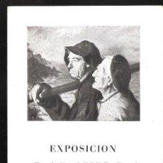Arte: ANGEL DE GARAVILLA. FEBRERO 1954. GALERÍAS AUGUSTA. BARCELONA. DÍPTICO. 17 X 12 CM.. Lote 167936176