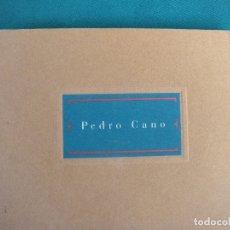 Arte: PEDRO CANO CUADERNOS DE VIAJE 1994 DEDICADO. MURCIA. Lote 168132652
