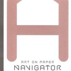 Arte: ART NAVIGATOR PRIZE.EXPRESSO.INVITACIO PEDRO QUEIROZ PEREIRA.ARCO LISBOA 2018.TARJETA. 21X10 CM.. Lote 168603692