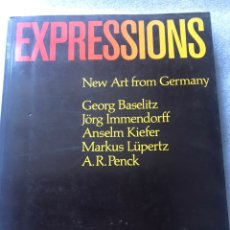 Arte: EXPRESSIONS. NEW ART FROM GERMANY. 1983. THE SANT LOVIS ART MUSEUM. Lote 168616768