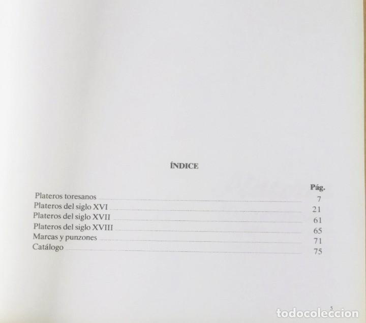 Arte: J. Navarro Talegón, Plateros toresanos de los siglos XVI, XVII y XVIII, catálogo, Zamora, 1988 - Foto 3 - 169032500