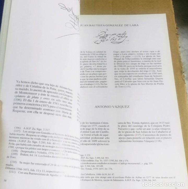 Arte: J. Navarro Talegón, Plateros toresanos de los siglos XVI, XVII y XVIII, catálogo, Zamora, 1988 - Foto 6 - 169032500