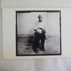 Arte: MARC TRIVIER 1986, TARJETA PARA EXPOSICIÓN FOTOGRÁFICA. PARIS, CENTRE NATIONAL DE LA PHOTOGRAPHIE. Lote 169397936