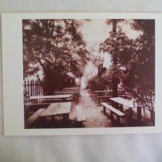 Arte: EUGÈNE ATGET. 1985, TARJETA PARA EXPOSICIÓN FOTOGRÁFICA. PARIS, CENTRE NATIONAL DE LA PHOTOGRAPHIE. Lote 169398256