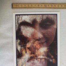 Arte: GUNDULA SCHULZE 1994, TARJETA PARA EXPOSICIÓN FOTOGRÁFICA. PARIS, CENTRE NATIONAL DE LA PHOTOGRAPHIE. Lote 169398428