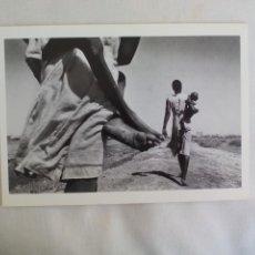 Arte: RÉFUGIÉS JOHN VINK 1994 TARJETA PARA EXPOSICIÓN FOTOGRÁFICA PARIS CENTRE NATIONAL DE LA PHOTOGRAPHIE. Lote 169398568