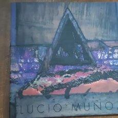 Arte: LUCIO MUÑOZ. ULTIMA PRODUCCIÓN . SALA DE EXPOSICIONES VERONICAS 1990. Lote 169932952