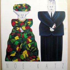 Arte: NOE KATZ (MÉXICO DF, 1953) – TEXTO DE LUIS MARTÍN LOZANO - 1976. Lote 170121352