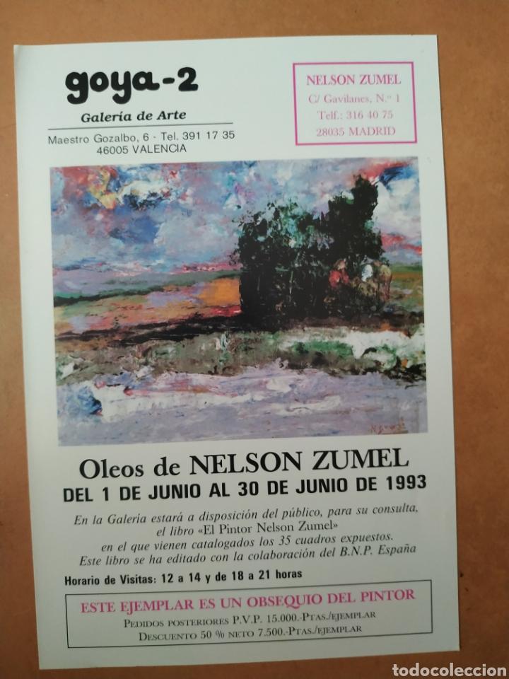 Arte: Libro del pintor Nelson Zumel, año 1993. Perfecto estado. - Foto 11 - 170408920