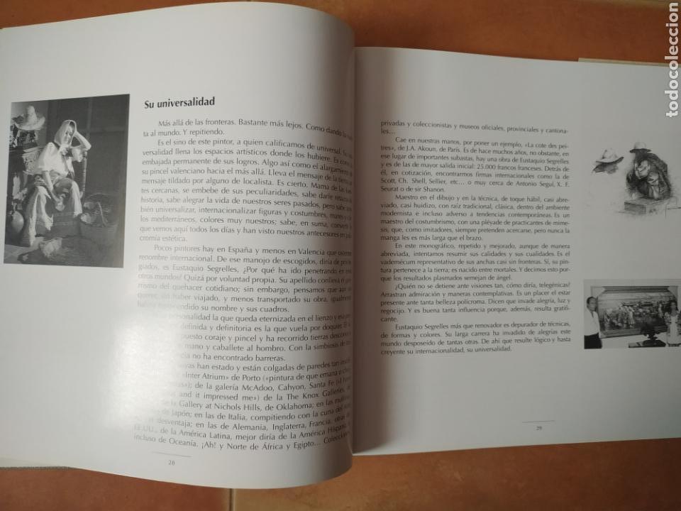 Arte: Libro del pintor Eustaquio Segrelles, año 2001. Perfecto estado. - Foto 5 - 170411418