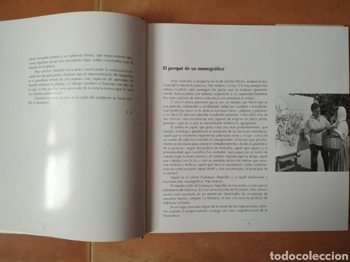 Arte: Libro del pintor Eustaquio Segrelles, año 2001. Perfecto estado. - Foto 4 - 170411418