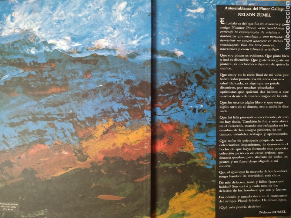 Arte: Libro del pintor Nelson Zumel, año 1993. Perfecto estado. - Foto 2 - 170408920