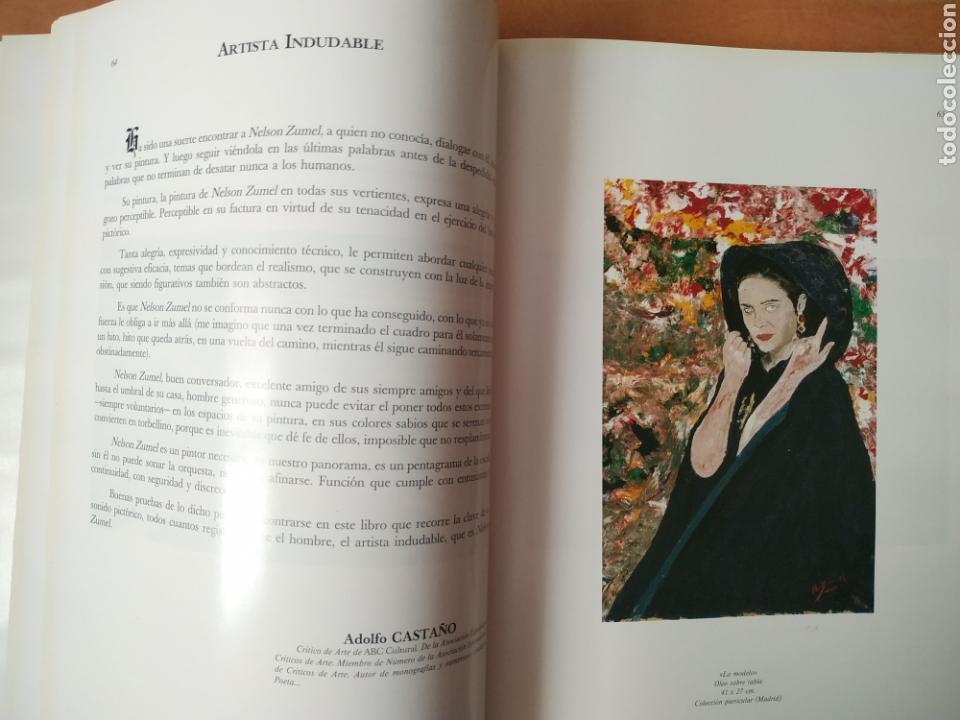 Arte: Libro del pintor Nelson Zumel, año 1993. Perfecto estado. - Foto 4 - 170408920