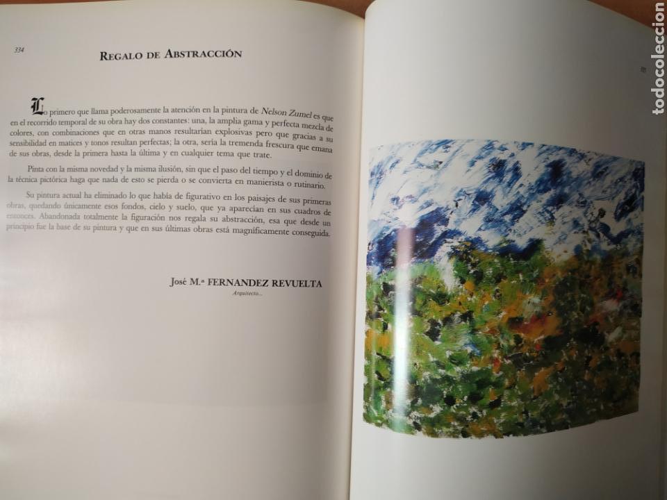 Arte: Libro del pintor Nelson Zumel, año 1993. Perfecto estado. - Foto 9 - 170408920