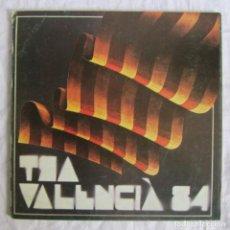 Arte: CATÁLOGO ART VALENCIA 84, 1984 CENTRE MUNICIPAL DE CULTURA, ALCOI ALICANTE, 38 PÁGINAS. Lote 170430068