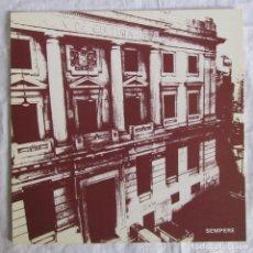 Arte: CATÁLOGO EUSEBIO SEMPERE, PINTURA, ESCULTURA, GRÁFICA. CENTRE MUNICIPAL DE CULTURA ALCOI ALICANTE . Lote 170430148