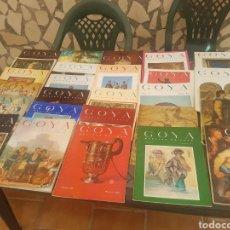 Arte: LOTE DE 27 REVISTAS DE GOYA - REVISTA DEL ARTE - CON EXTRAORDINARIOS. Lote 170509908