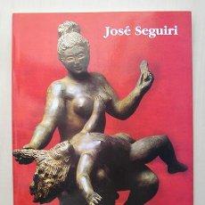 Arte: JOSÉ SEGUIRI (MÁLAGA, 1954) · BRONCES Y TERRACOTAS - MUSEO CRUZ HERRERA, LA LÍNEA, 1998. Lote 170974067