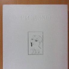 Arte: PICASSO. INTIMO / 1994. PATIO DE LA INFANTA. ZARAGOZA. Lote 171020432