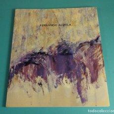 Arte: FERNANDO ALMELA. EN TORNO A UNA PINTURA DE MU QI. DEDICATORIA AUTÓGRAFA DEL PINTOR. Lote 171669720
