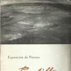 Arte: REGINO PRADILLO, CLUB URBIS 1967. Lote 172116440