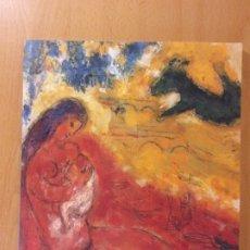 Arte: MARC CHAGALL. PINTURAS ALREDEDOR DE LA SERIE DE PARÍS, GOUACHES Y AGUADA, ESCULTURAS Y LITOGRAFÍAS. Lote 172263953