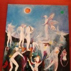Arte: MANOLO CORONADO. PÁJAROS, MÁSCARAS, CIRCO, COLOR... (GABRIEL VANRELL GALERIA D'ART). Lote 172356194