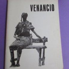 Arte: VENANCIO BLANCO - 1972 - CATALOGO ESCULTURAS EN BRONCE. Lote 172706219