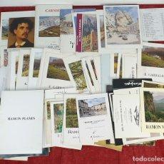 Arte: COLECCION DE 138 CATALOGOS DE ARTE. VARIOS ARTISTAS Y SALAS. BARCELONA. AÑOS 80.. Lote 172743303